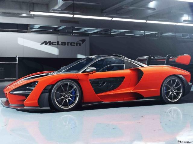 McLaren Senna 2019