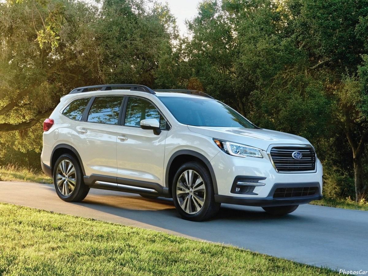 Subaru Ascent 2019 a été présentée avec trois rangées de sièges