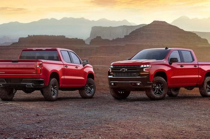 Chevrolet Silverado 2019 ajoute de la technologie et baisse le poids.