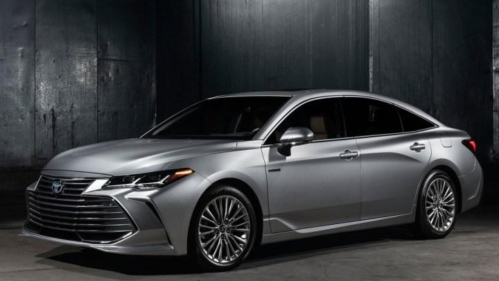 Toyota Avalon 2019: Une renaissance dans les grandes berlines.