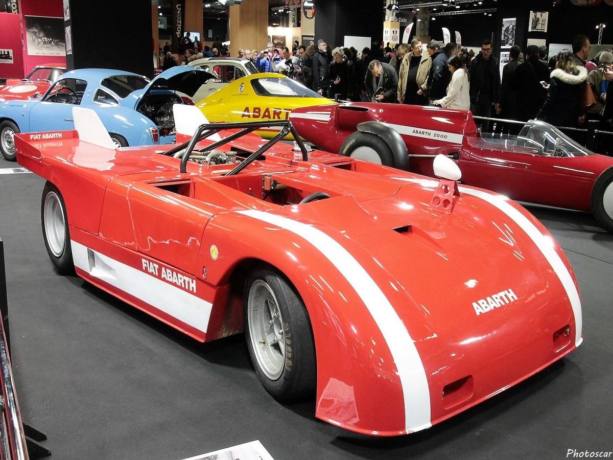 Abarth 2000 Spider Prototype 1971