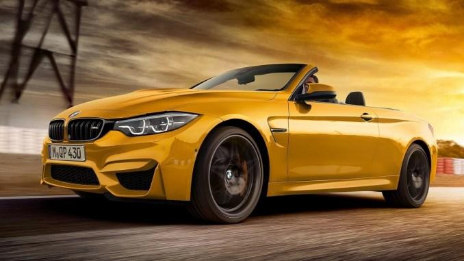 BMW M4 Convertible 30 Jahre 2018 [02]