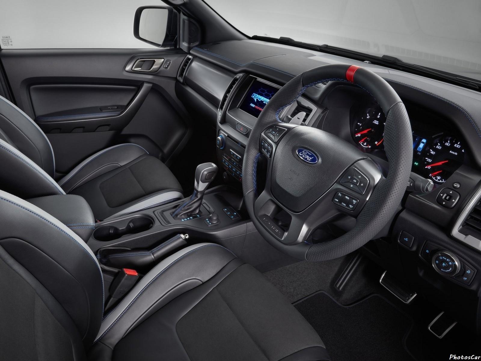 Ford Ranger Raptor 2019 Intérieur