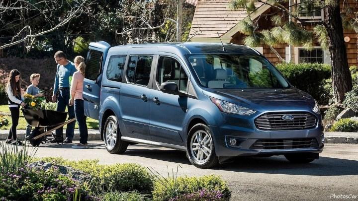 Le Ford Transit Connect Wagon 2019 a été exposé au Chicago Auto Show.