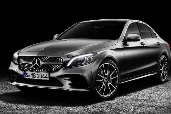 Mercedes Classe C 2019 reçoit une nouvelle technologie, un nouveau look