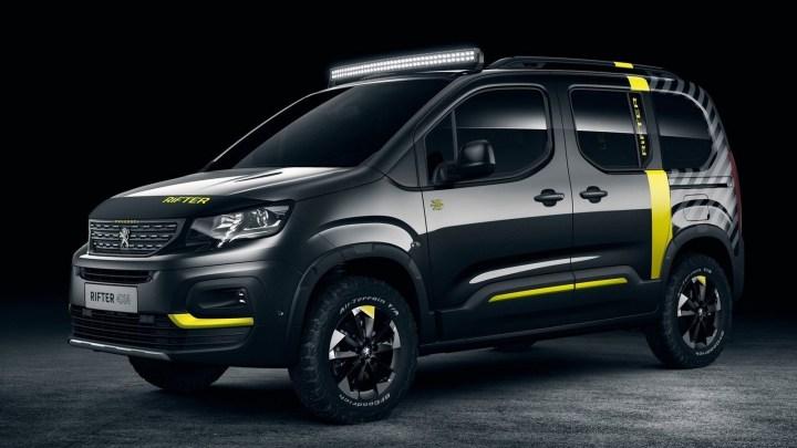 Peugeot Rifter 4×4 2018 est transformé en un concept tout-terrain
