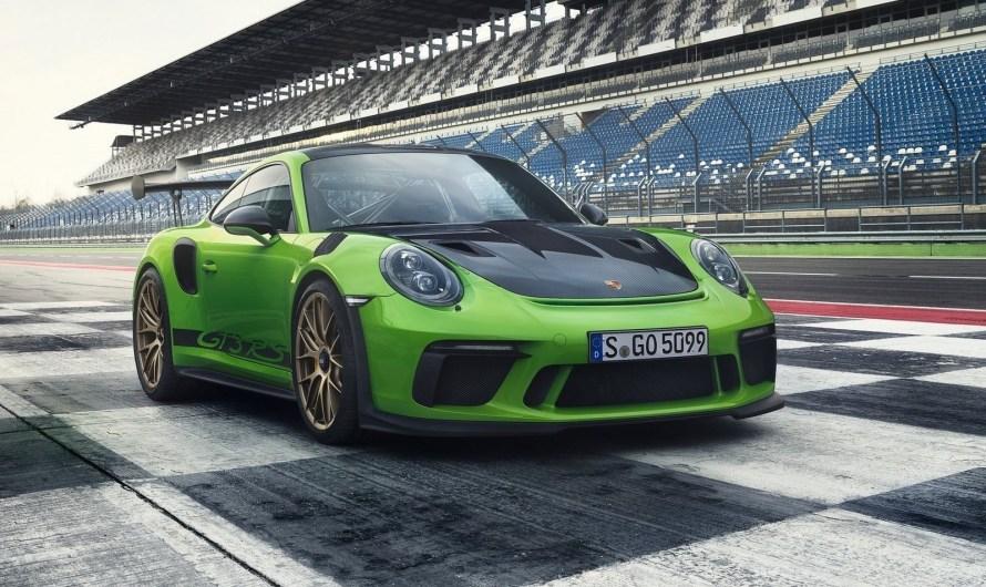 Porsche 911 GT3 RS 2019 – Aérodynamique inspirée de la course