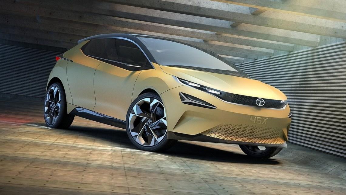 Tata 45X Concept 2018 – Le concept Tata 45X est une berline dynamique