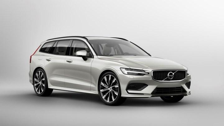 Volvo V60 2019: Magnifique, fonctionnel et rempli de technologie.