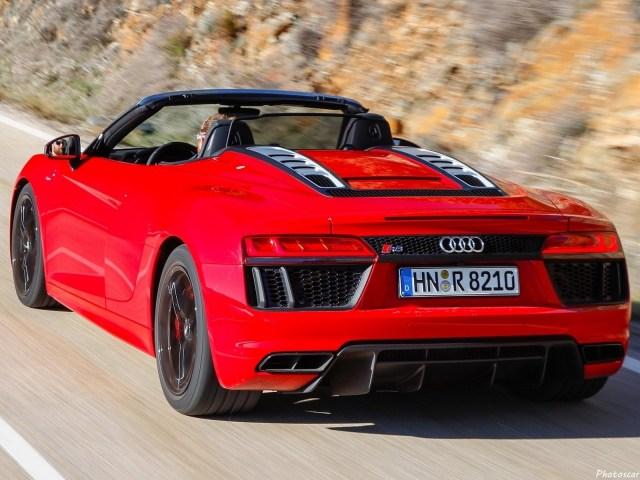 Audi R8 Spyder V10 RWS 2018