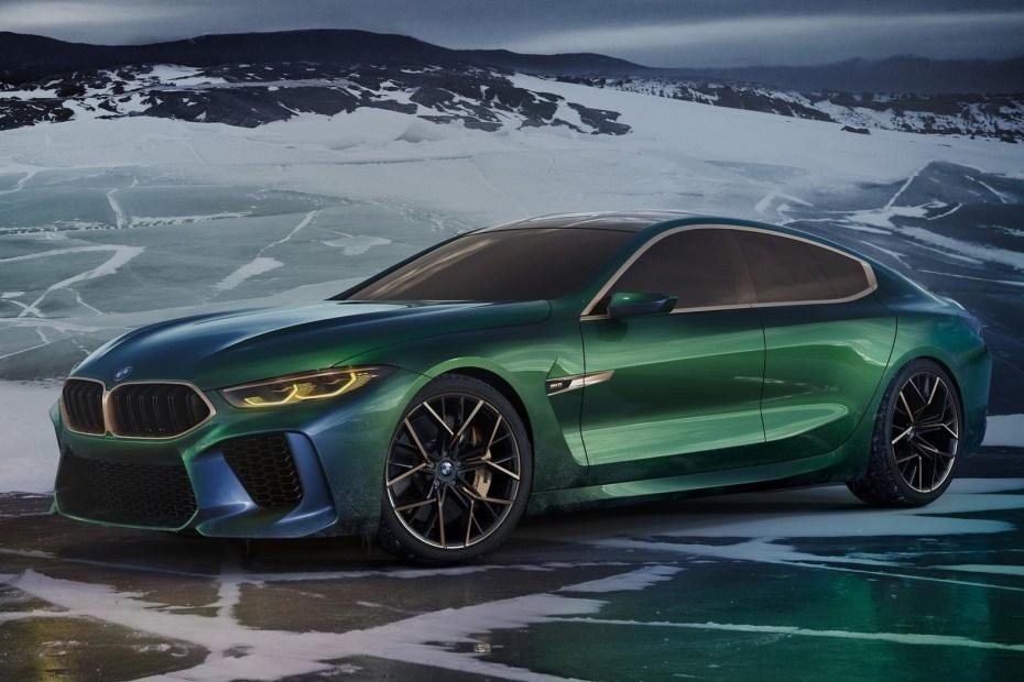 BMW M8 Gran Coupe Concept 2018