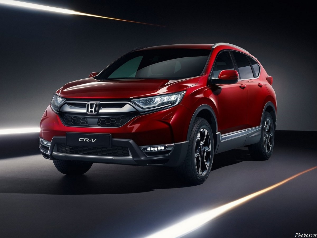 Honda CR-V Version [EU] 2019: Nouvelle génération CR-V pour l'Europe