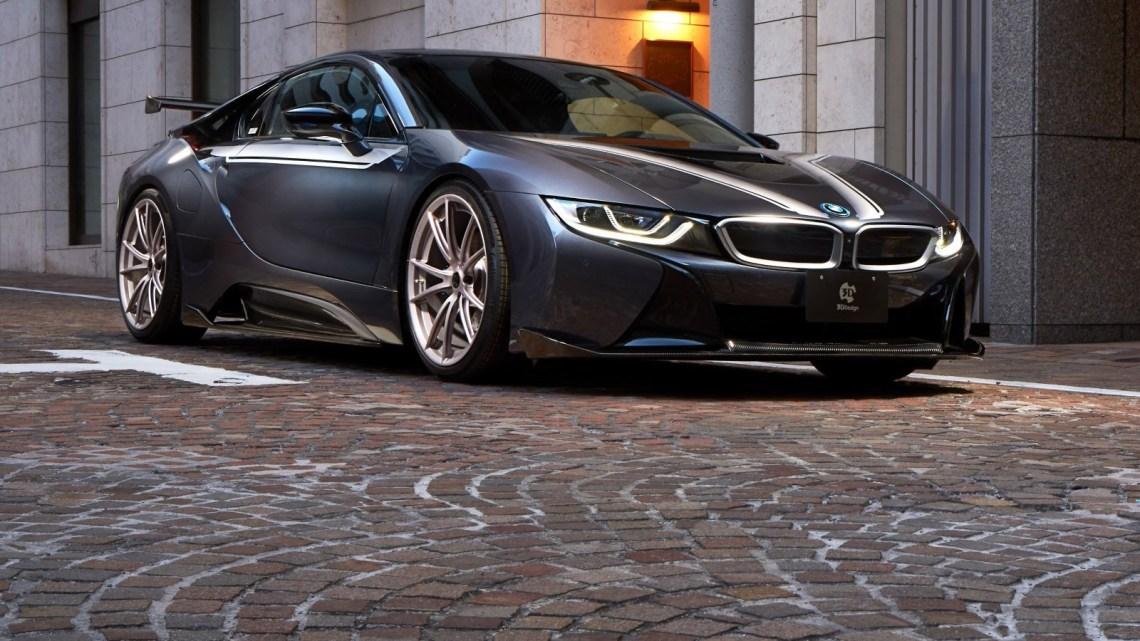 3D-Design BMW i8 2018 dévoilé dans son intégralité