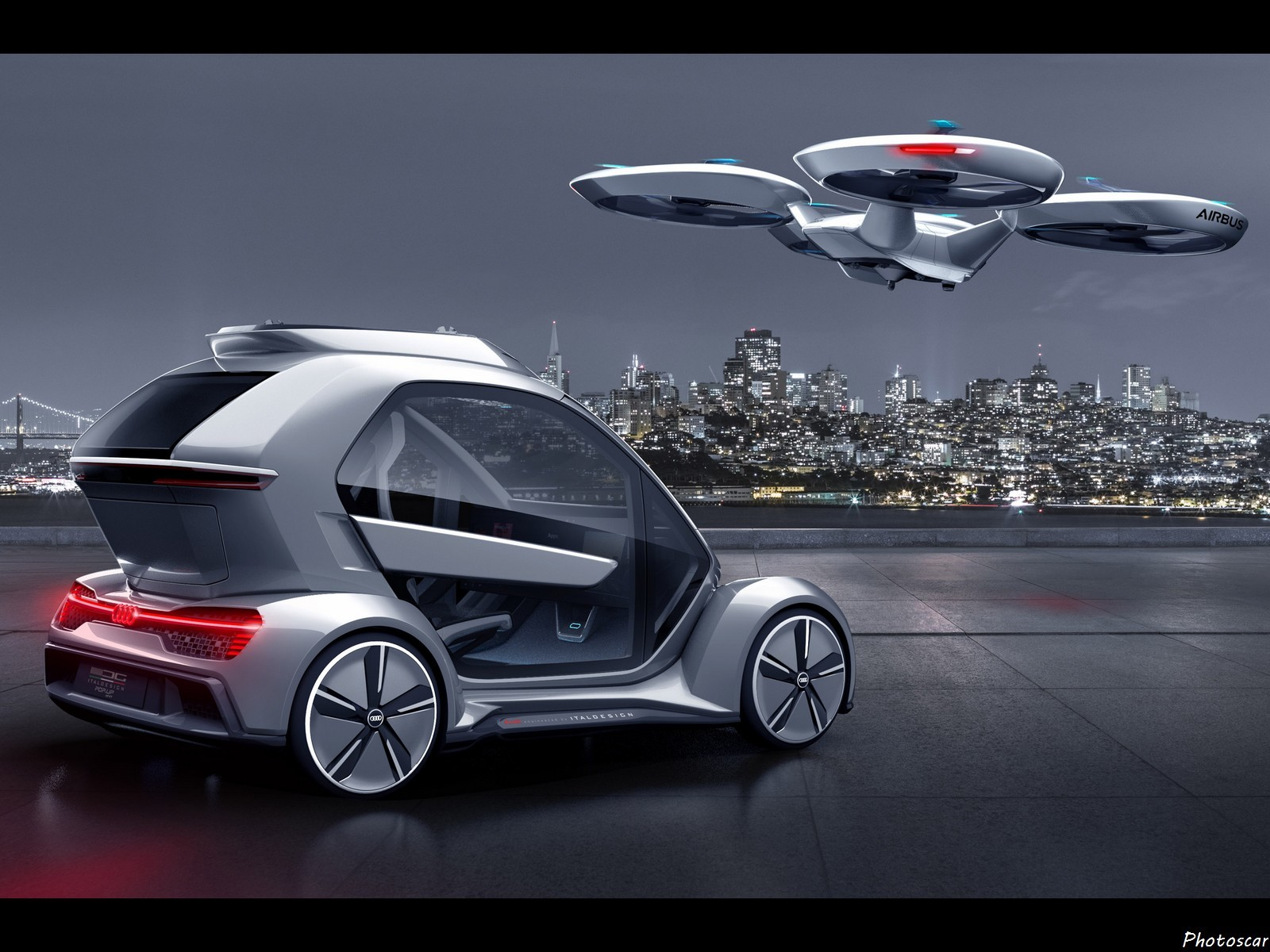 Audi Airbus Pop-Up_Next Italdesign 2018