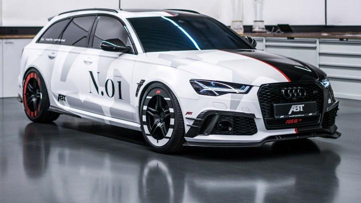 Audi RS6 plus Phoenix by ABT 2018 de 735 chevaux pour Jon Olsson
