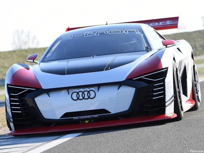 Audi e-tron Vision Gran Turismo Concept 2018