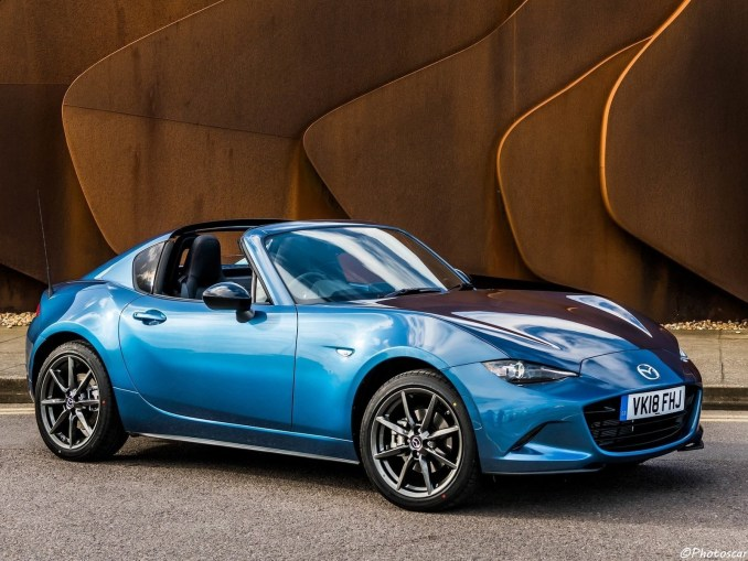 Mazda MX-5 RF Sport Black UK 2018