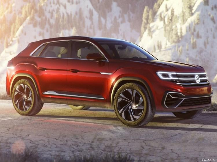 Volkswagen Atlas Cross Sport Concept 2018