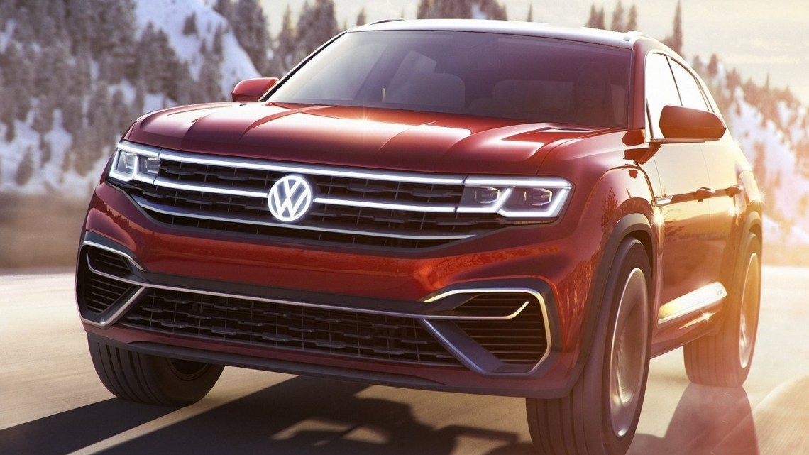 Volkswagen Atlas Cross Sport 2018 : SUV detaillemoyenne