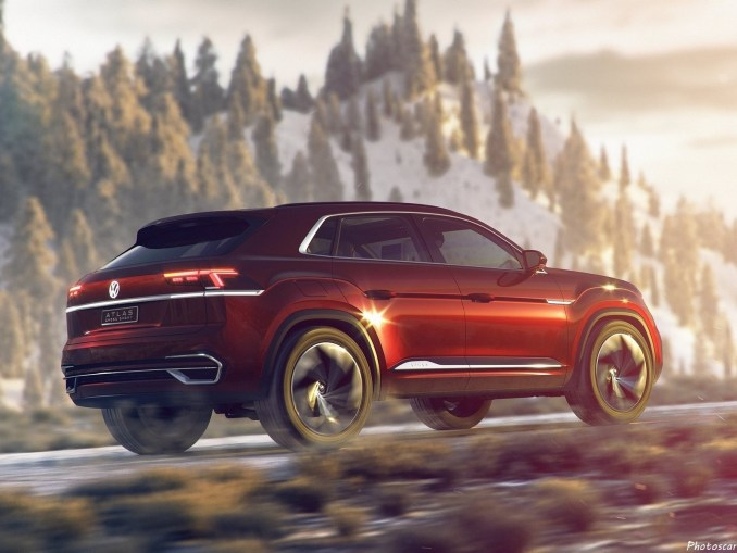 Volkswagen Atlas_Cross Sport Concept 2018