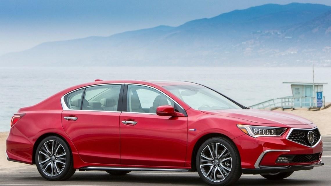 Acura RLX 2018 – Maniabilité high-tech pour la berline hybride de luxe