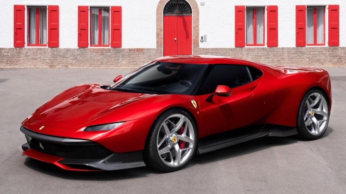 Ferrari SP38 2018 – Le programmeOne-Off créé un modèle unique