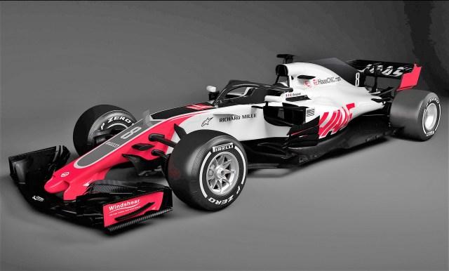 Haas VF-18 F1 2018