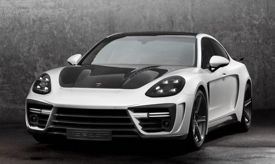 Porsche Panamera Stingray GTR 2017 du tuner Russe TopCar