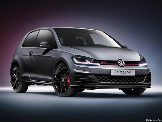 Volkswagen Golf GTI TCR Concept 2018