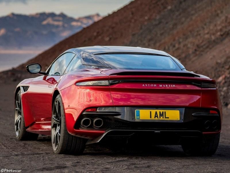 Aston Martin DBS Superleggera 2019