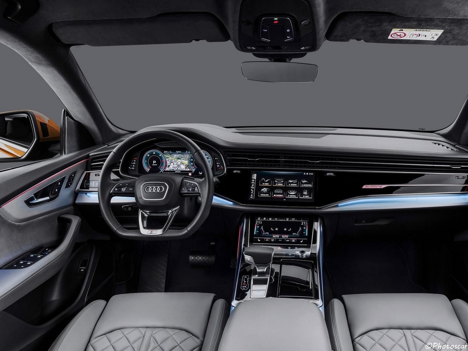 Audi_Q8_2019 - Intérieur