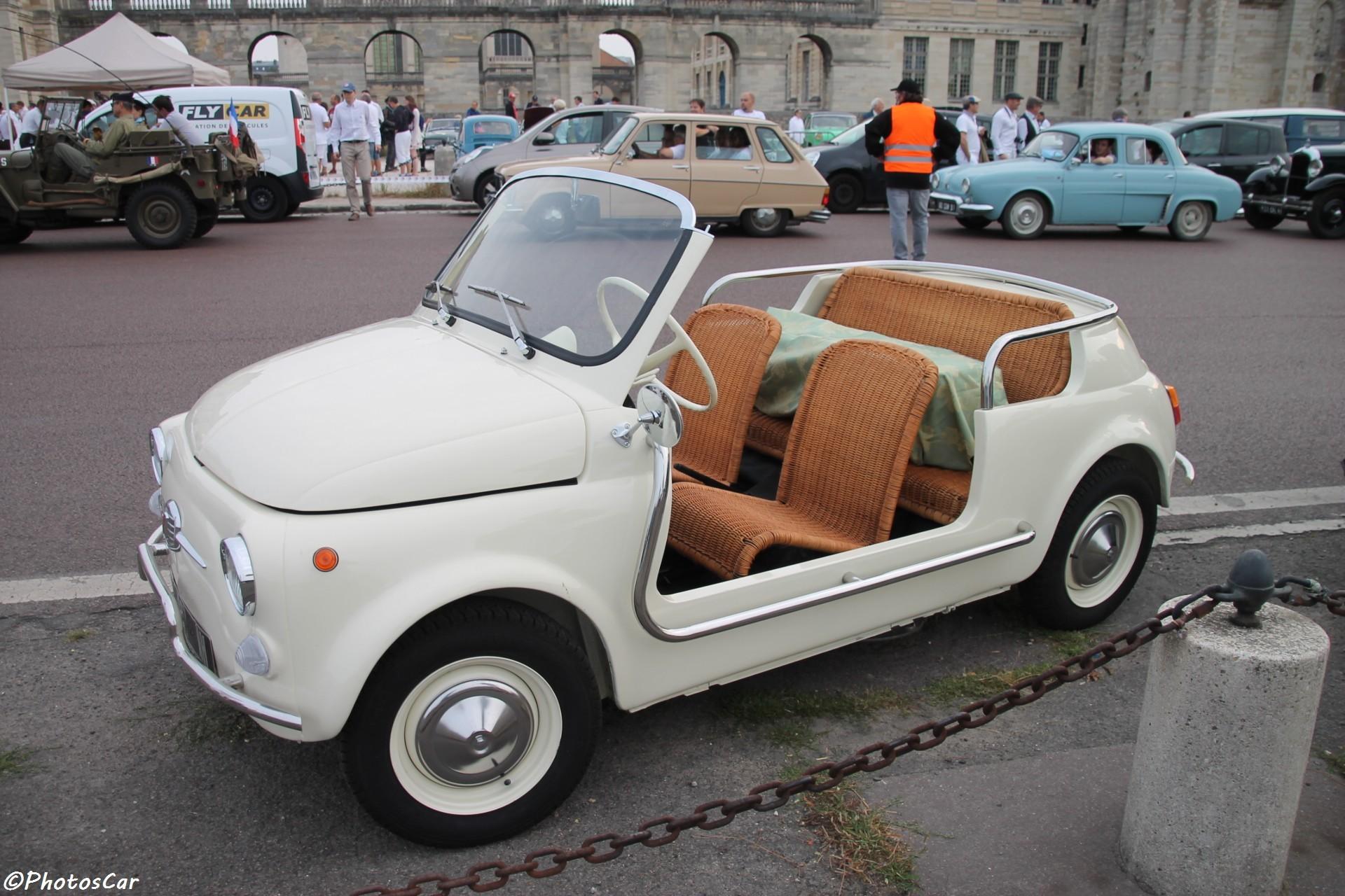 FIAT 500 de plage