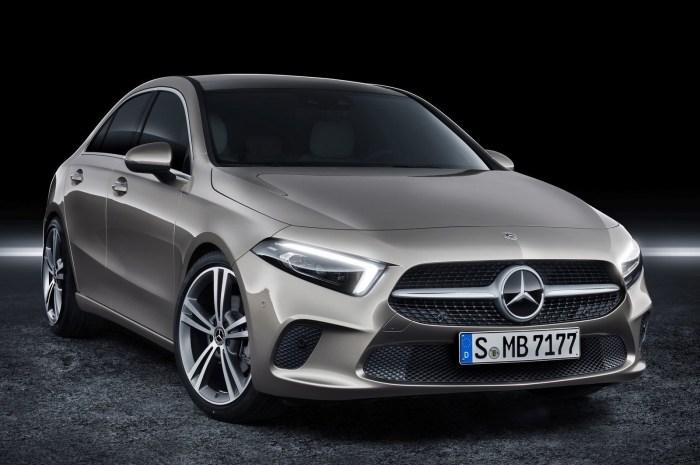 Mercedes Classe A Sedan 2019 – Moteur essence Turbocompressé 1,3 l