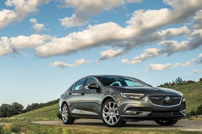 Buick Regal Avenir 2019 offre un luxe élégant et polyvalent