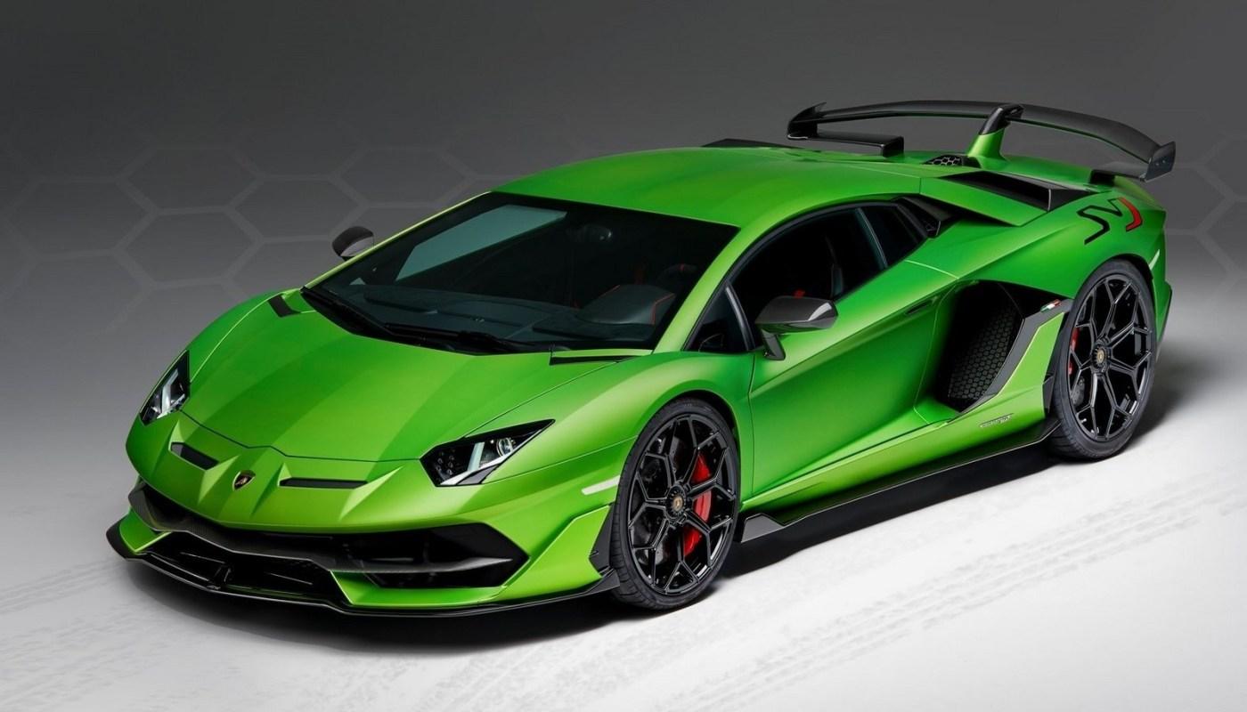 Lamborghini Aventador SVJ 2019