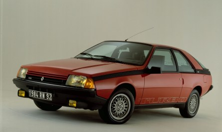 Renault Fuego Turbo 1983
