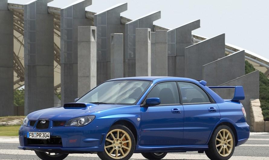 Subaru Impreza – Voiture familiale compacte fabriqué depuis 1992.