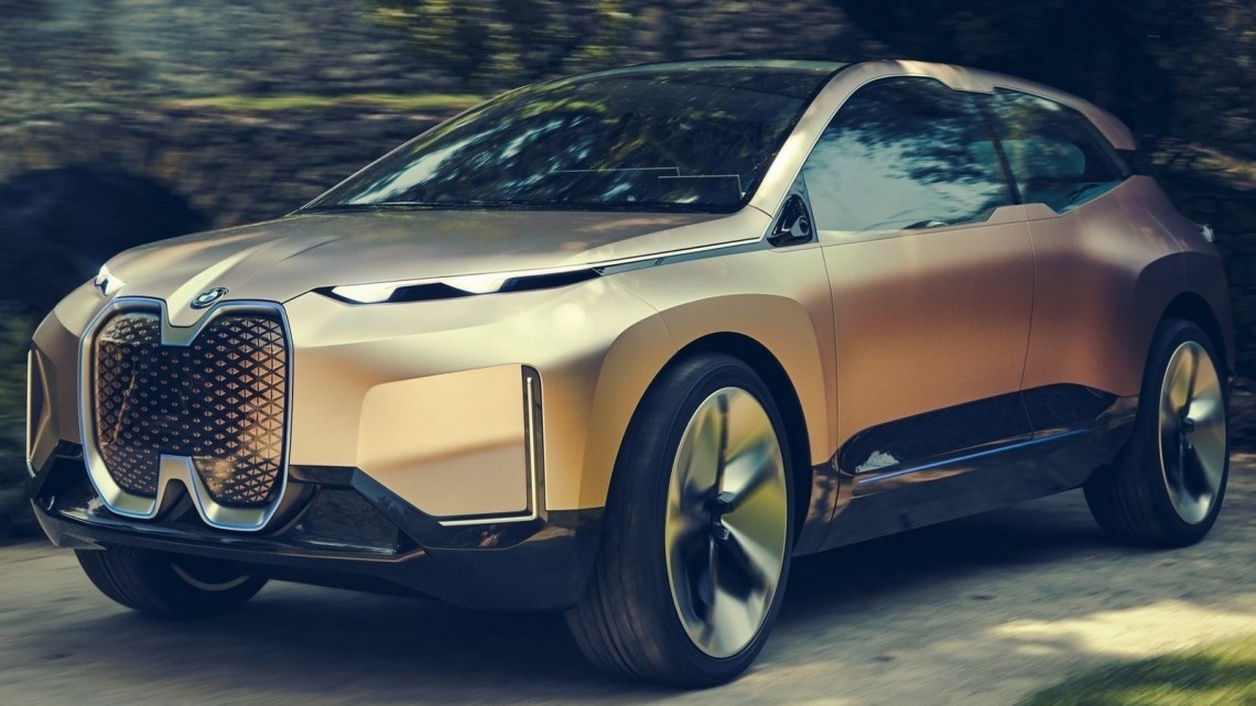 BMW Vision iNEXT Concept 2018 – Un concept de berline tout électrique