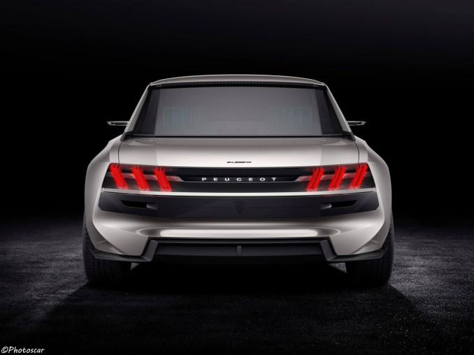 Peugeot e-Legend Concept 2018