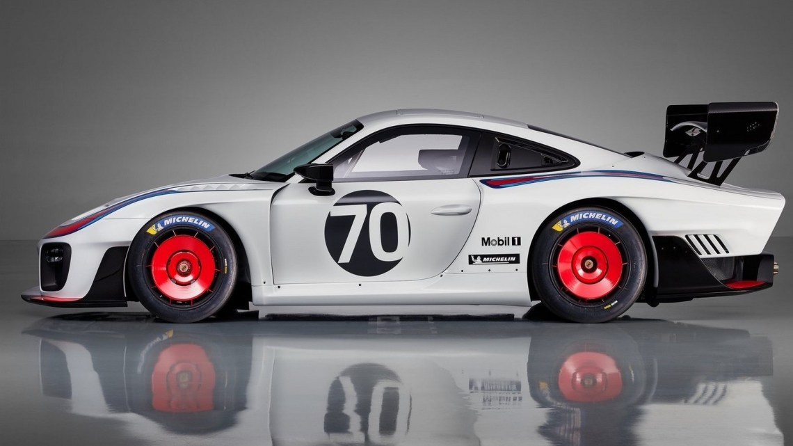 La Porsche 935 2019, inspiré de la voiture de course Le Mans d'antan