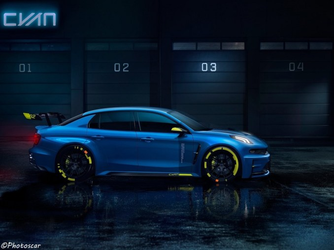 Lynk Co-03 Cyan Racing Concept 2018
