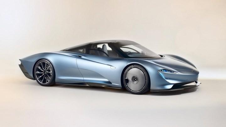 McLaren Speedtail 2020 – 106 exemplaires du Speedtail seront construits