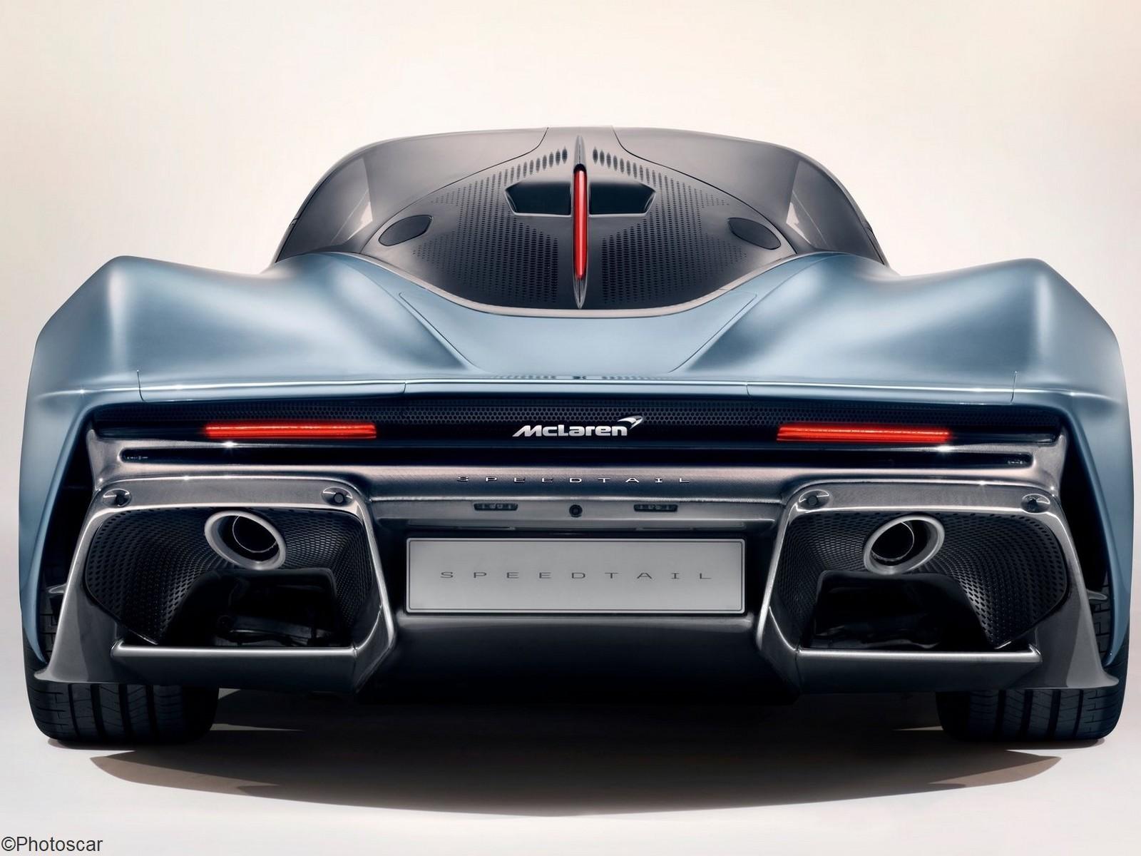 McLaren Speedtail 2020