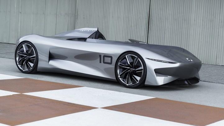 Infiniti Prototype 10 2018 ouvre la voie vers un avenir électrifié