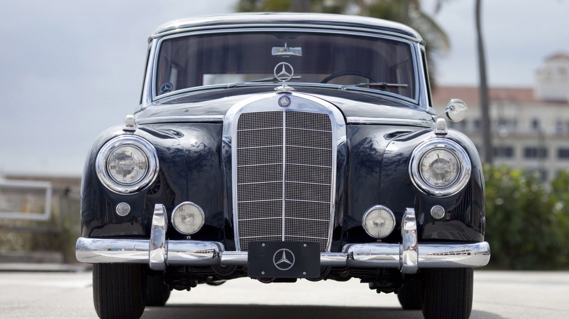 Binz Mercedes 300C Station Wagon 1956 – Break exclusif pour Mme Folke
