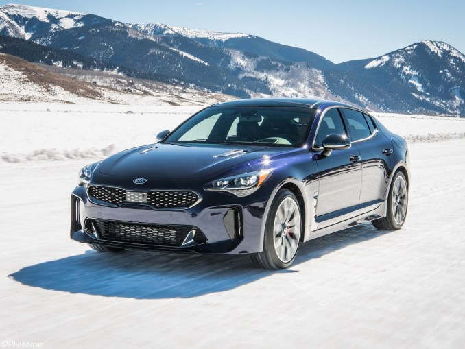 Kia Stinger GT Awd Atlantica USA 2018
