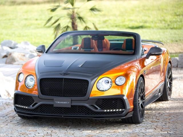 Mansory Bentley Continental GTC 2015