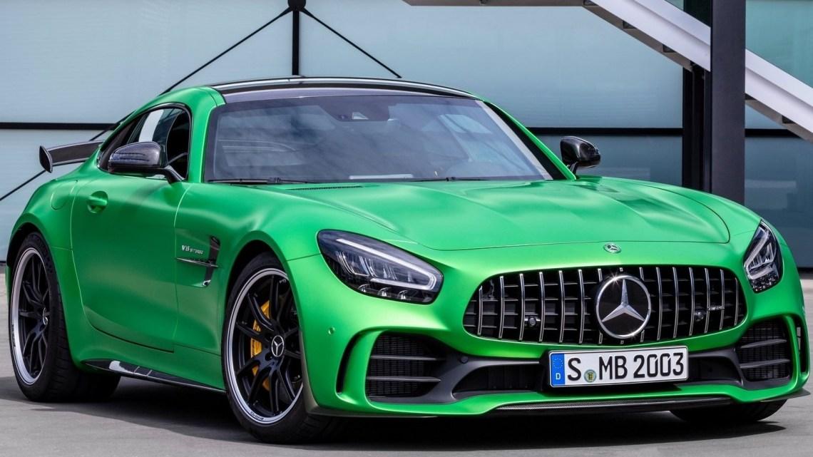 Mercedes AMG GT-R 2020 – Voiture de course homologuée pour la route