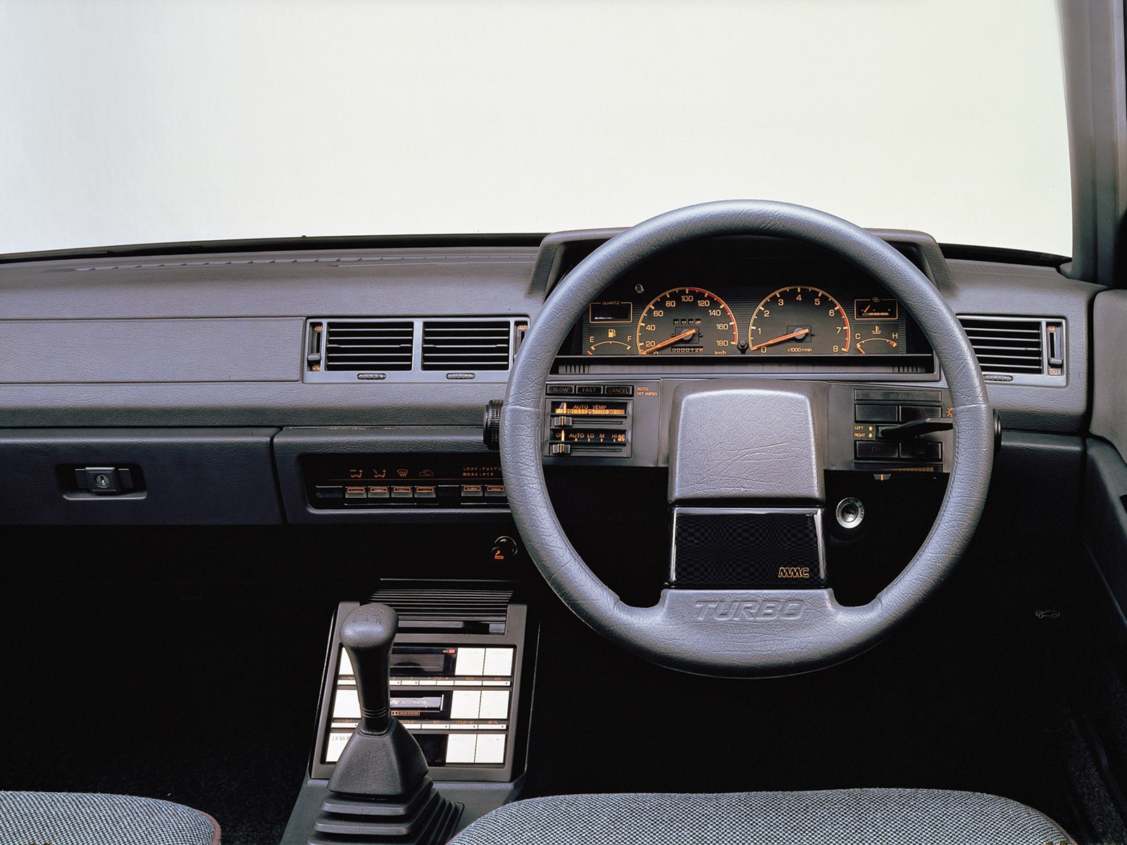 Mitsubishi Galant 2000 GSR-X Turbo 1983