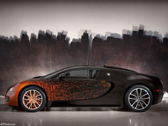 Bugatti Veyron Grand Sport Venet 2012